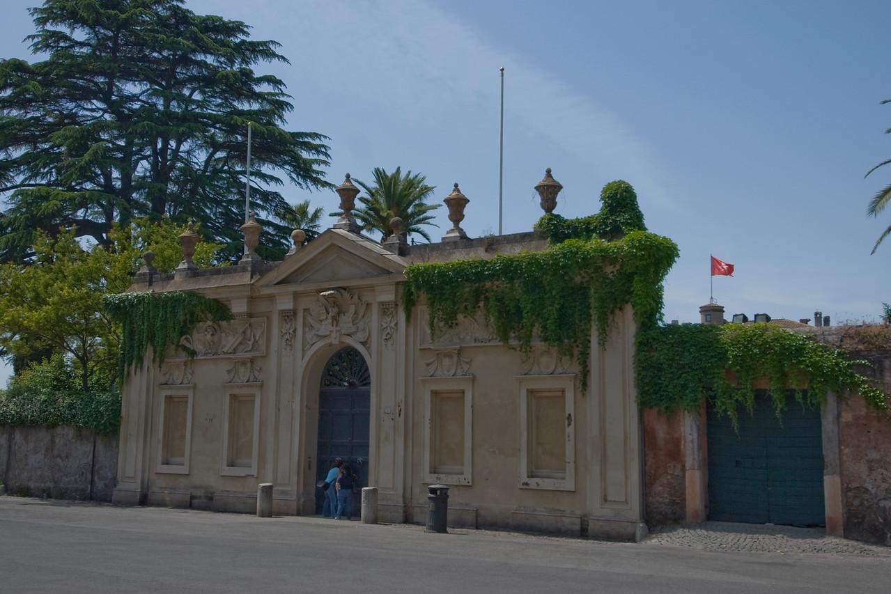 Villa Malta & Garden in Rome, Italy