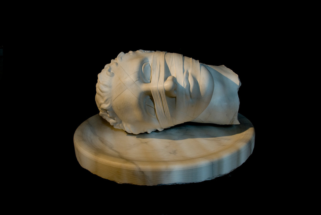 A plaster cast in Museum of Classical Archaeology - Rome, Italy