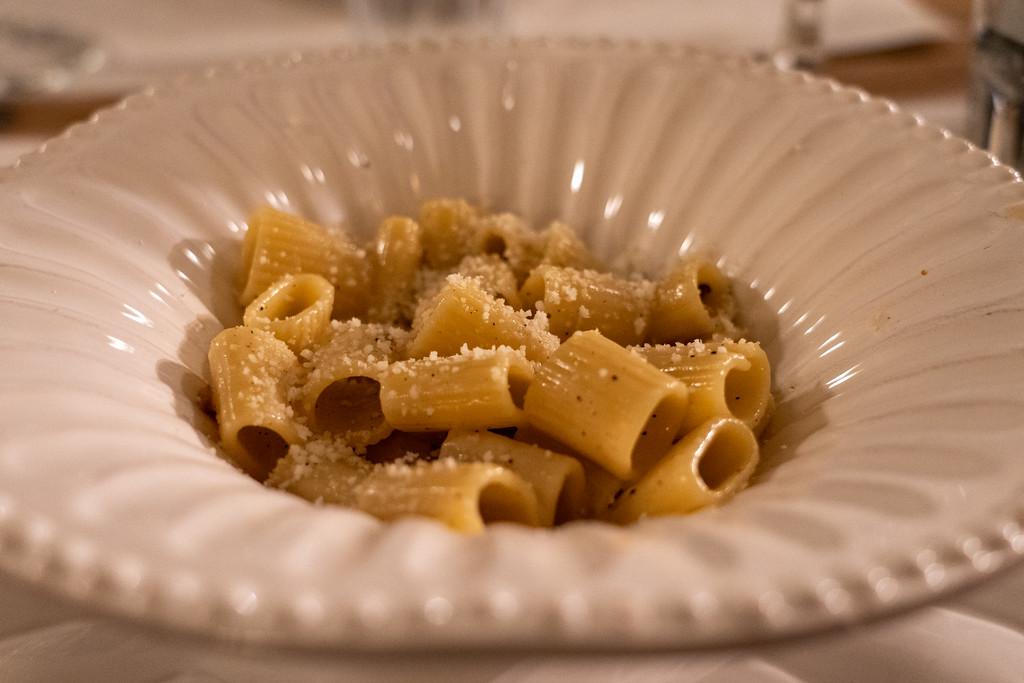 Pasta carbonara in Rome