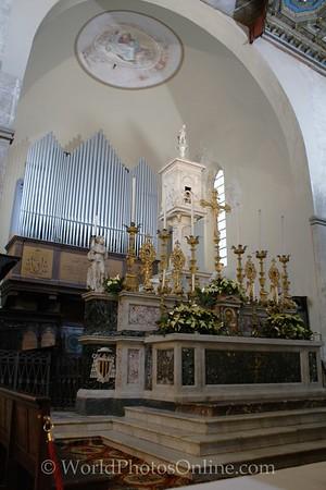 Volterra - Cathedral of Santa Maria Assunta - Altar