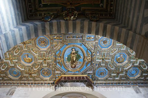 Volterra - Cathedral of Santa Maria Assunta - Ceiling Detail