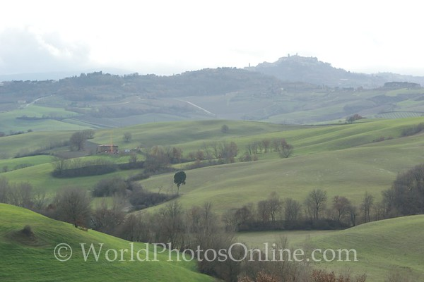 Multepulciano - View from Countryside