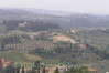 San Gimignano - Countryside from Rocca (Fortress)