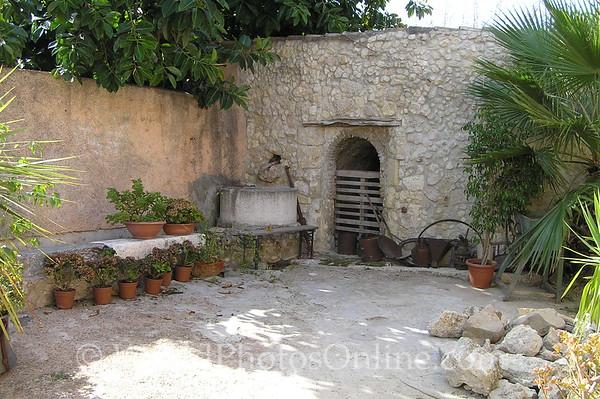 Sardinia - Cagliari - 13th Century Villa - Rear Courtyard