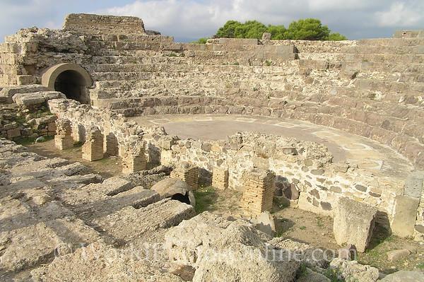 Sardinia - Nora - Roman Theatre