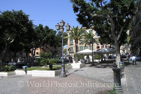 Sardinia - Cagliari - Piazza Yenne