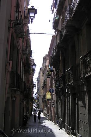 Sardinia - Cagliari - Street Scene 2