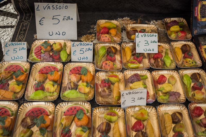 Fruit Shaped Marzipan, Palermo Market