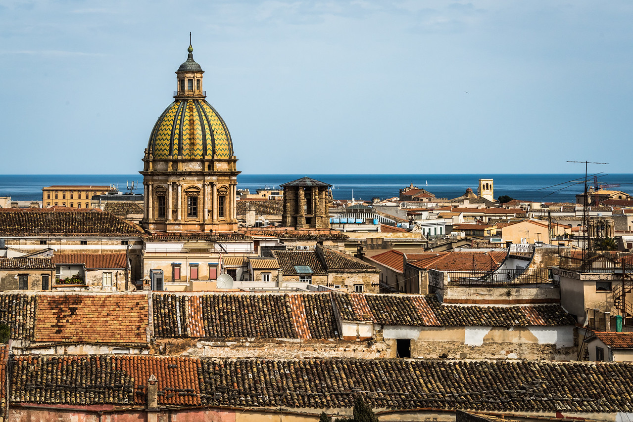 Roof tops Palermo