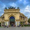 The Politeama Theatre of Palermo. circa 1897