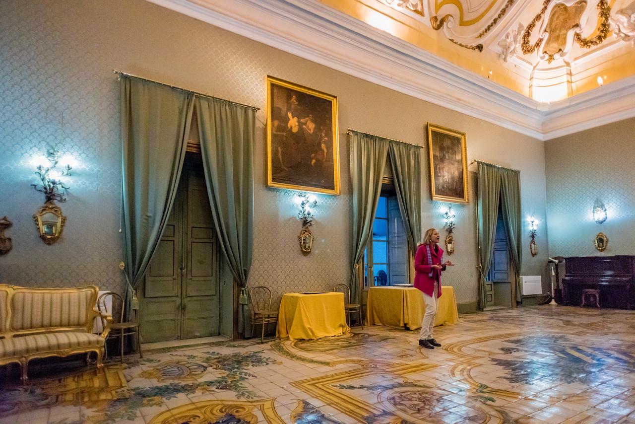 Palazzo Conte Federico, Palermo   circa 1500's
