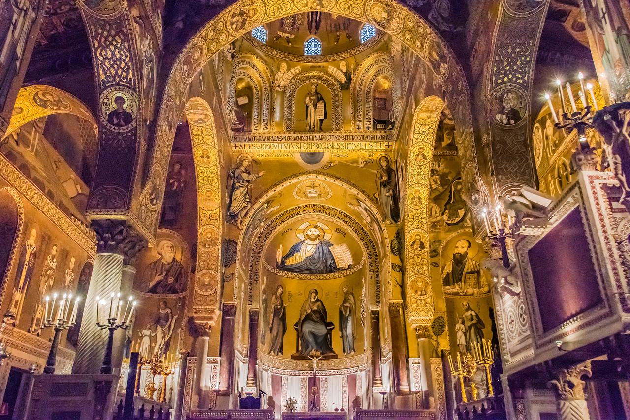 Palatine Chapel Palermo circa 1129