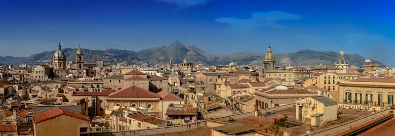 Palermo Skyline