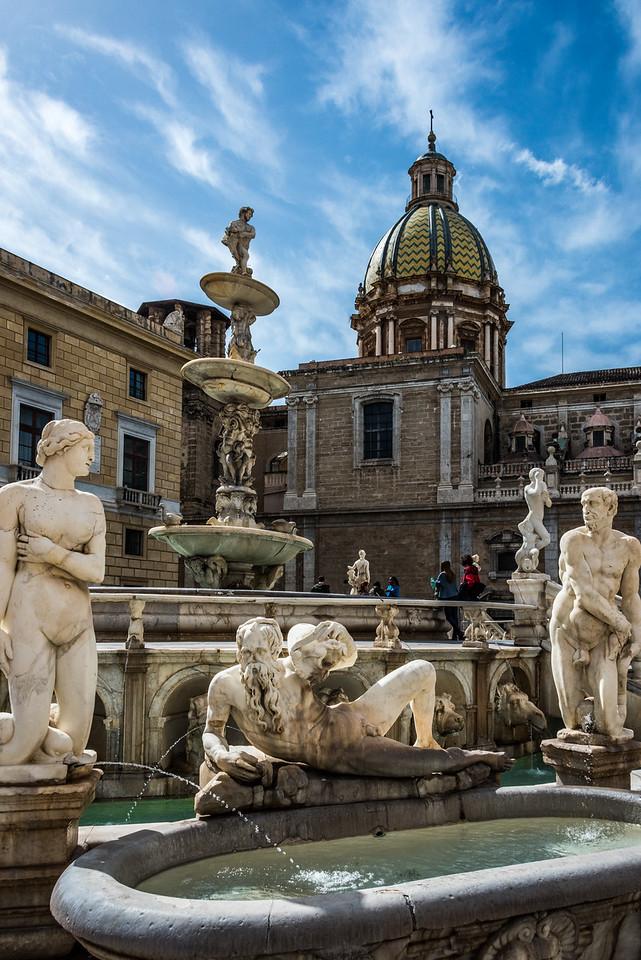 Fontana Pretoria - circa ~ 1584