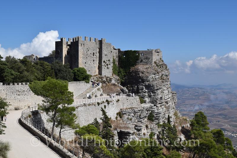 Norman Castle on site of Venus Temple