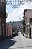 Town near Mt Etna