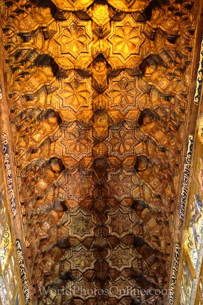 Traditional Islamic Ceiling in Palatine Chapel