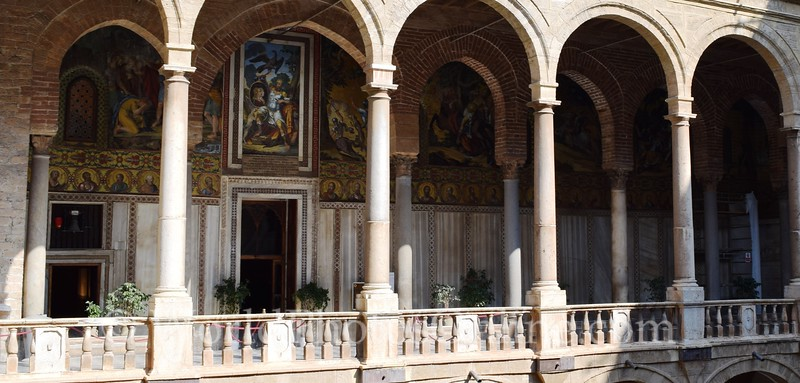 Palatine Chapel Entrance