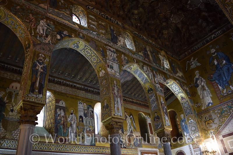 Mosaic in Palatine Chapel