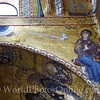 La Martorana - Mosaics - Immaculate Conception (dove) of Mary