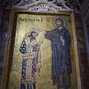 La Martorana - Mosaics - King Roger and Jesus