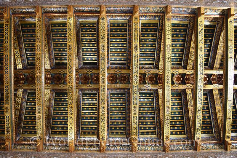 Monreale - Santa Maria Nuova Cathedral - Ceiling