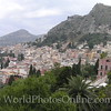 View of Taormina from the Ancient Greek/Roman  Amphitheater