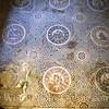 "Mosaic on floor of ""fruit"" room"