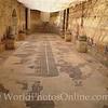 Mosaic of Circus Maximus in Rome in Baths
