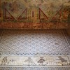Patterned Mosaic Floor in Alcove on top of Erotic Room
