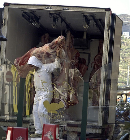 Meat Delivery Man - Lipari, Sicily