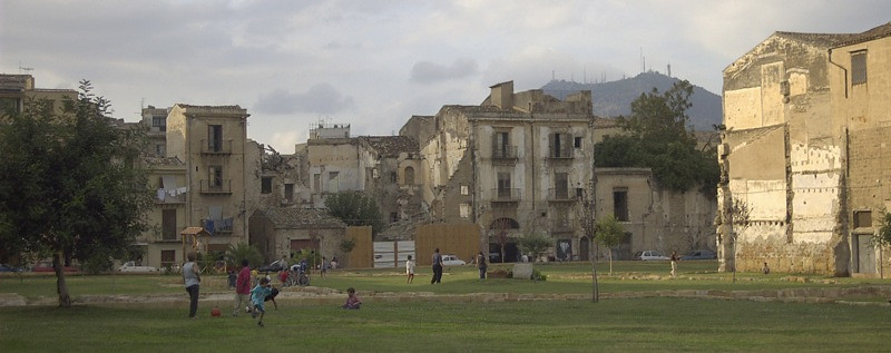 Rubbled Buildings from WWII - Palermo, Sicily