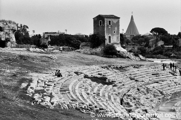 Greek Amphitheater - Siracusa, Sicily