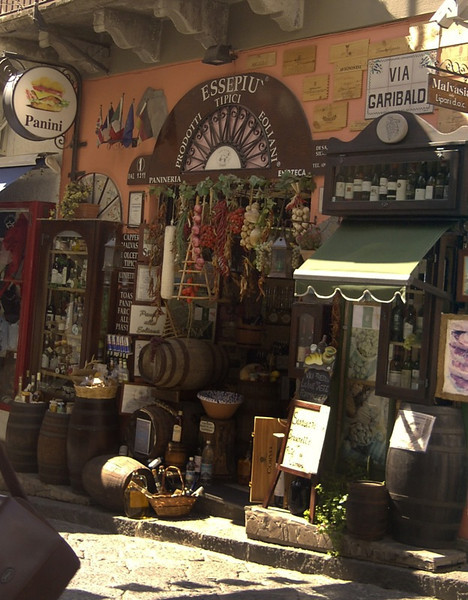 Artisanal Food Shop - Lipari, Sicily