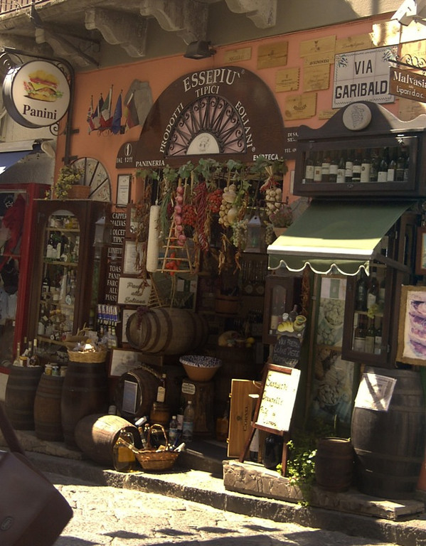 Artisanal Food Shop - Lipari, Sicily