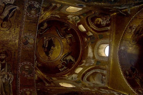 Inside of Monreale Church - Sicily