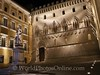 Siena - Palazzo Salimbeni at night