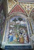 Siena - Cathedral of Siena - Piccolomini Library - Fresco