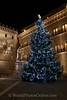 Siena - Palazzo Salimbeni at Christmas