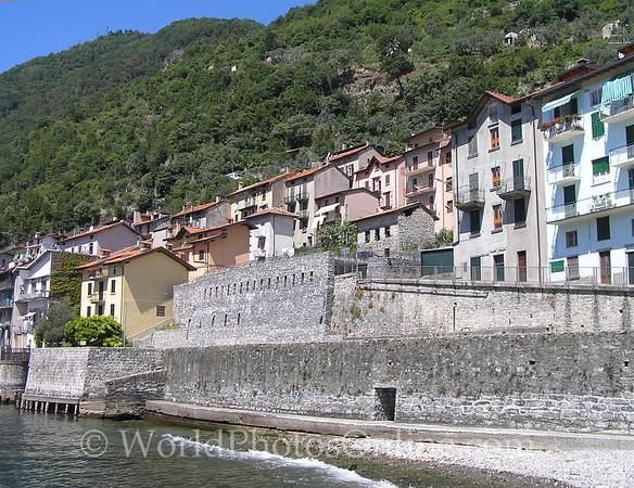 Lake Como - Lenno - Old City Wall