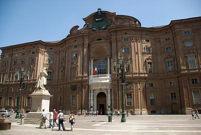 Palazzo Carignano in Turin, Italy