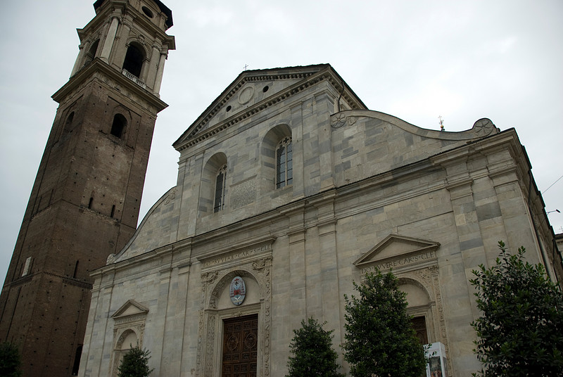 Turin Cathedral facade in Turin, Italy