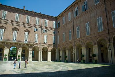 The Palazzo Carignano in Turin, Italy