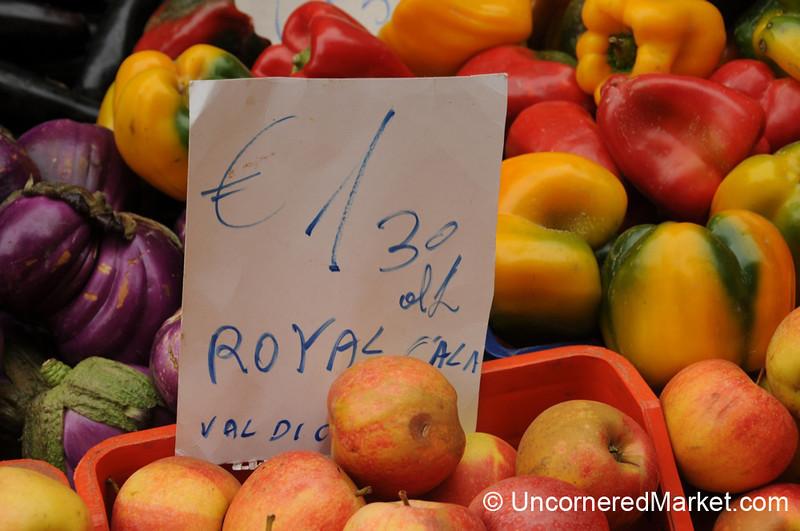 Cortona's Weekly Market - Tuscany, Italy
