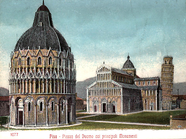Baptistry, Cathedral and the Leaning Tower