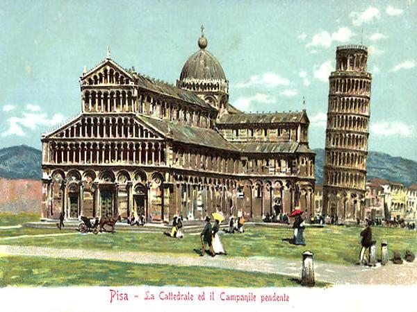 La Cattedrale ed il Campanile Pendente
