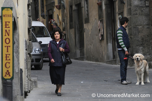 Cortona Street Scene - Tuscany, Italy