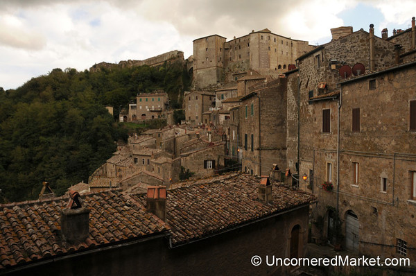 Built into the Hills - Sorano, Italy