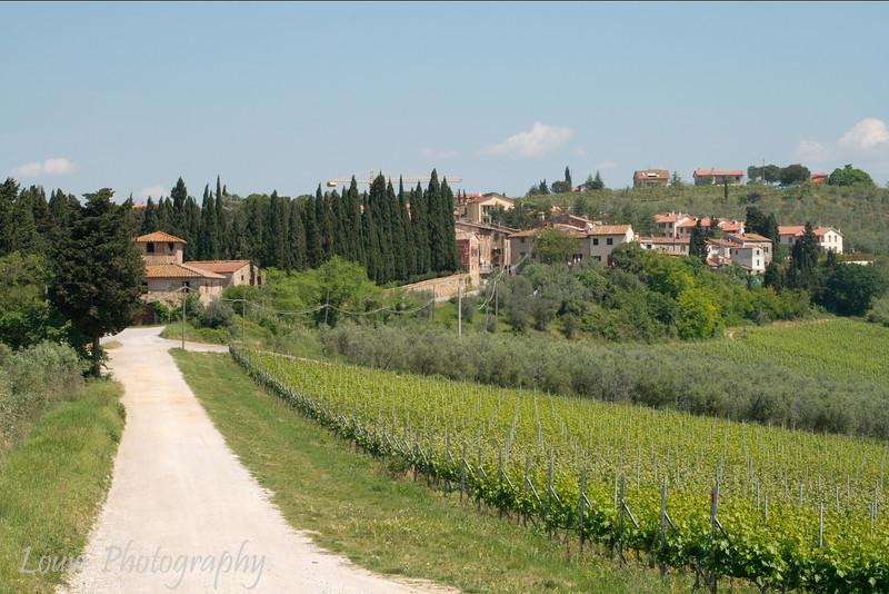 Village of Fiano, Tuscany