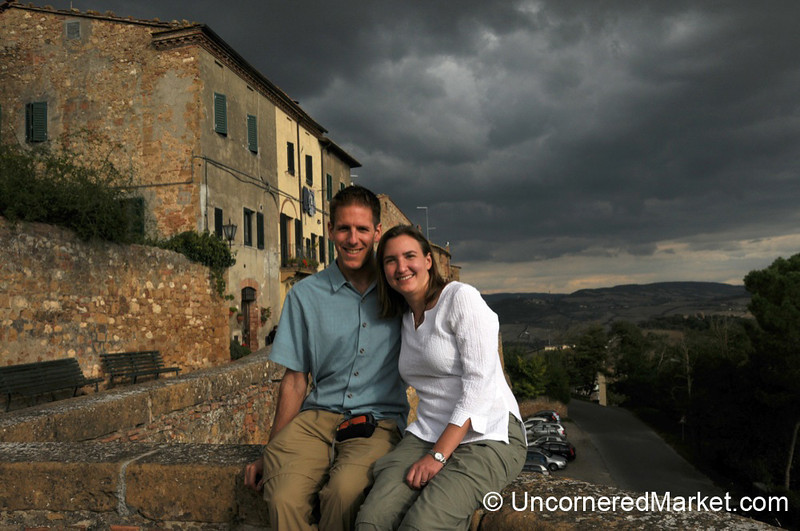 Ten Years Later - Pienza, Italy
